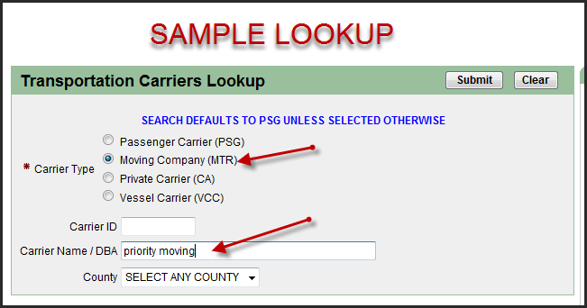 Check If A San Diego Ca Mover Has A Valid License